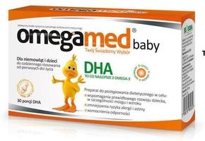 Omegamed baby x 30 kapsułek twist-off