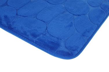 Dywanik łazienkowy 59 x 39 cm niebieski
