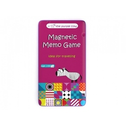 Podróżna gra magnetyczna, memo, the purple cow
