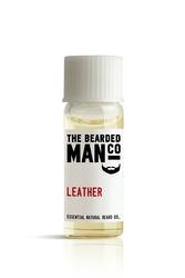 Bearded man co - olejek do brody skóra - leather 2ml