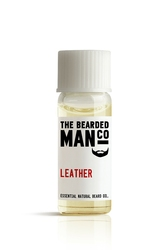 Bearded man co - olejek do brody skóra - leather 2ml