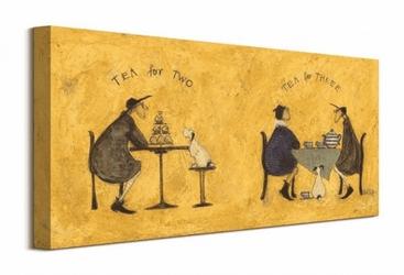 Tea for two tea for three - obraz na płótnie