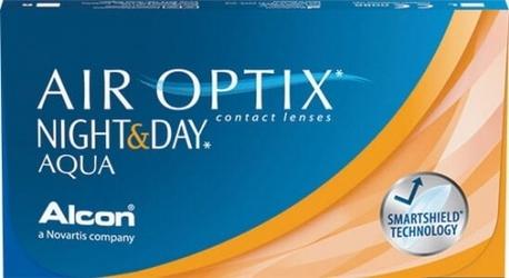 Air optix nightday aqua, 3 szt.