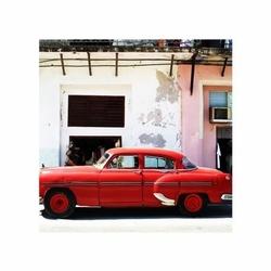 Havana cuba - cadillac - reprodukcja
