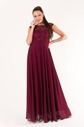 Eva  lola sukienka oberżyna 60005-1