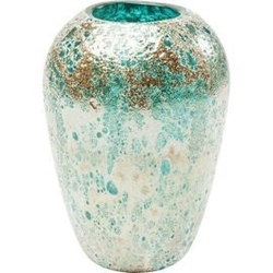 Kare design :: wazon moonscape turquoise 22cm
