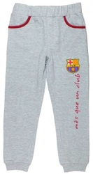 Spodnie fc barcelona szare 9 lat