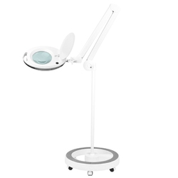 Lampa lupa elegante 6027 60 led smd 5d ze statywem