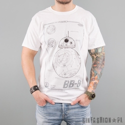 Koszulka star wars - bb-8 tech