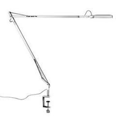 Flos :: lampa biurkowa kelvin led clamp chrom