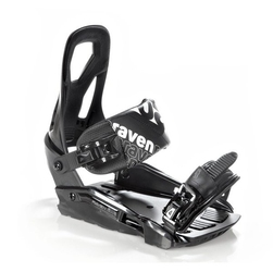 Wiązania snowboardowe raven s200 black 2021