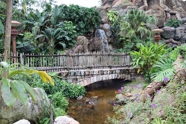 Fototapeta mostek w parku fp 1731