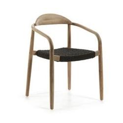 Drewniane krzesło ogrodowe glynis