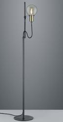 Industrialna lampa podłogowa z regulacją wysokości nacho