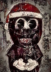 Legends of bedlam - mr. hankey, south park - plakat wymiar do wyboru: 60x80 cm