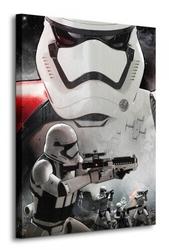 Gwiezdne wojny star wars episode vii stormtrooper art - obraz na płótnie