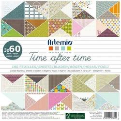 Papier ozdobny 30,5x30,5 cm - Time After Time