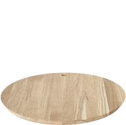 Duża, okrągła deska do krojenia i serwowania borda blomus dębowa b63797