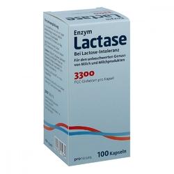 Lactase 3300 fcc kapsułki