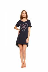 Henderson Tayla 37102-59X Granatowa koszula nocna