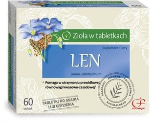 Len x 60 tabletek do ssania