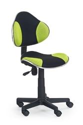 Fotel obrotowy Flash zielony czarny