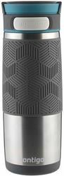 Kubek termiczny Contigo Transit 470 ml - Srebrny - Srebrny