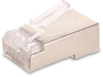 Wtyk sieciowy getfort rj45 cat.5e 8p8c ekranowany 100szt - szybka dostawa lub możliwość odbioru w 39 miastach