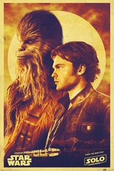 Solo: A Star Wars Story Han and Chewie - plakat