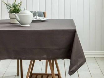 Obrus na stół altom design bawełniany brązowy  taupe 110 x 160 cm