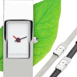 ENERGETIX zegarek magnetyczny 2127-1 ze stali szlachetnej