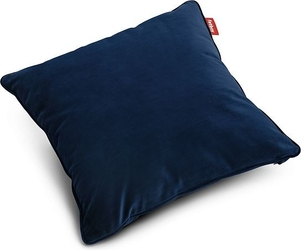 Poduszka velvet square ciemnoniebieska