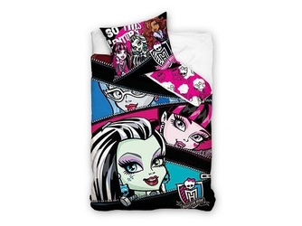 Komplet pościeli 160x200 monster high