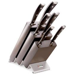Noże kuchenne w drewnianym, brązowy bloku Wusthof Ikon W-9866