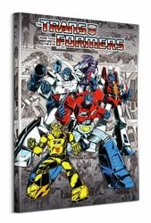 Transformers Comics - obraz na płótnie