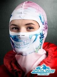 Ocieplana kominiarka termoaktywna 3d - kobieca czacha snow