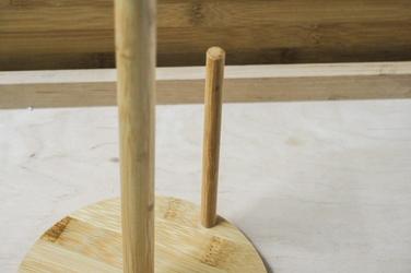Bambusowy stojak na ręczniki papierowe h-35 cm