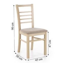 Krzesło dinaro drewniane dąb sonoma