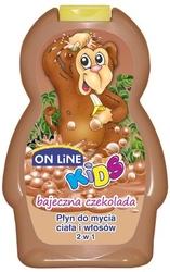 On line czekolada bajeczna,  szampon i płyn do kąpieli dla dzieci, 250ml