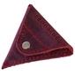 Skórzana bilonówka coin wallet brodrene cw01 czerwony - czerwony