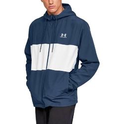 Kurtka męska under armour sportstyle wind jacket - niebieski