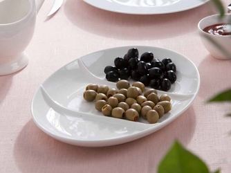 Półmisek owalny 3-dzielny porcelana altom design regular 29,5 cm