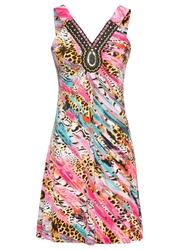 Sukienka letnia bonprix różowy