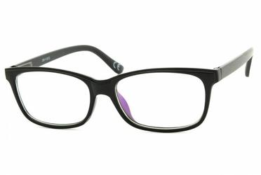 Okulary antyrefleksyjne zerówki nerdy prostokątne dr-112-c2