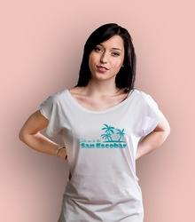 San escobar holiday t-shirt damski biały xxl