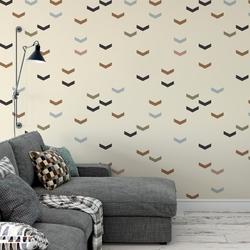 Tapeta na ścianę - minimalist wave , rodzaj - tapeta flizelinowa