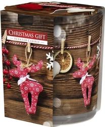 Bispol, sn72s, świeca zapachowa w szkle, świąteczny prezent, 1 sztuka