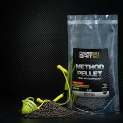 Method Pellet Feeder Bait Royal Rak Black 4mm 800g