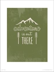 Adventure green - plakat premium