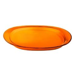 Guzzini - taca owalna - feeling - pomarańczowa - pomarańczowy
